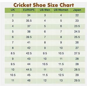 Men Shoe Size Charts Activity Shelter