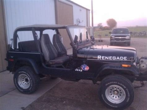 jeep cj renegade sell used 1978 jeep cj 7 renegade in brighton colorado