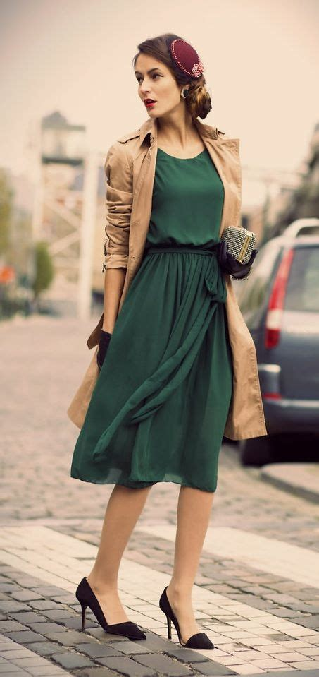 Best 25+ Modern vintage fashion ideas on Pinterest | 40s fashion Modern fashion outfits and ...
