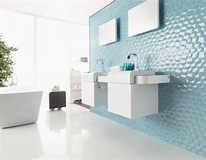 Carrelages Salle De Bain : des carrelages de salle de bains ultra originaux ~ Melissatoandfro.com Idées de Décoration