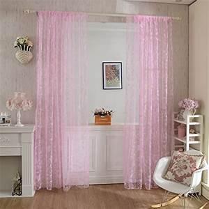 Gardinen Set Schlafzimmer : rosa transparente gardinen vorh nge und weitere gardinen vorh nge g nstig online kaufen ~ Whattoseeinmadrid.com Haus und Dekorationen