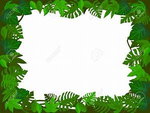Jungle Leaves Background Clipart (64+)