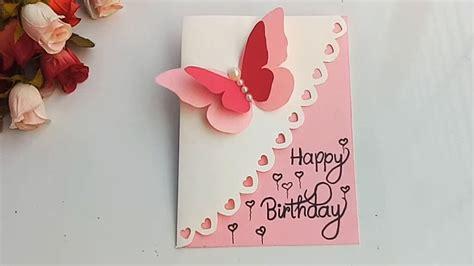 diy birthday card ideas   friend step  step