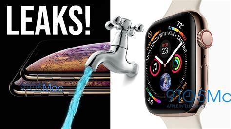 iphone xs apple series 4 leaks by apple