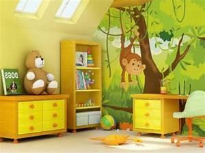 Fototapete Kinderzimmer Junge : 40 ideen mit fototapete wald lassen sie die natur ins haus ~ Yasmunasinghe.com Haus und Dekorationen