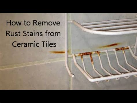remove rust naturally   repair  home doovi