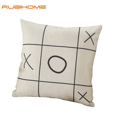 creative geometric xo cushions without inner black and
