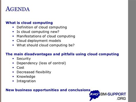 cloud definition disadvantages of cloud computing