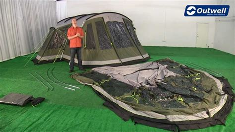 Outwell Montana 6p Front Awning Pitching Video