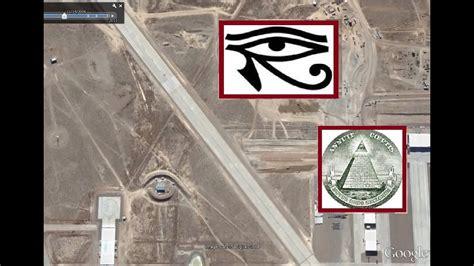 Illuminati Area 51 El Ojo De Horus En El Area 51 Earth