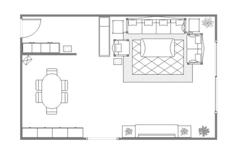 Living Room Design Plan  Free Living Room Design Plan