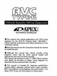 Apexi Installation Instruction Manual  Avc