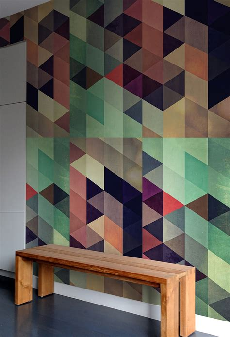tile decoration generate a captivating accent wall with geometric pattern wall tiles decor advisor