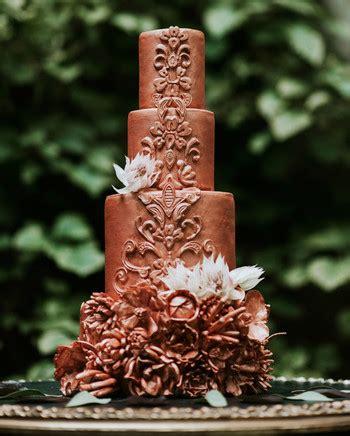 chocolate stout cake  caramel buttercream salted