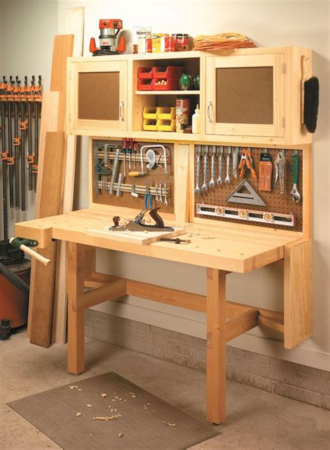fold  workstation woodsmith plans  workstation