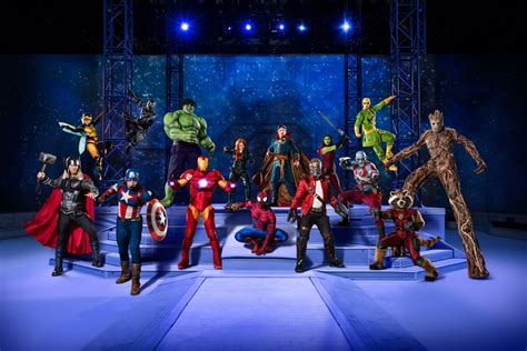 """""""marvel Universe Live! Age Of Heroes"""" Stops In St Louis"""