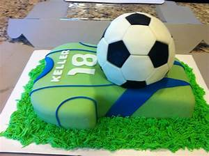 Sounders Soccer Cake - CakeCentral com