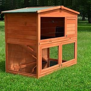 Kaninchenstall Für Draußen : zooprimus kleintier stall nr 23 kaninchen k fig hasenhaus m meerschweinchen haus f r ~ Watch28wear.com Haus und Dekorationen