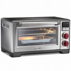 Wolf Gourmet Elite Countertop Oven With Red Knobs Wgco150s