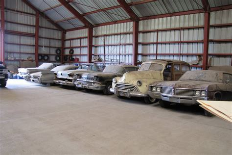 Antique Cars Found In Barn by Barn Find 200 Vintage Cars From Chevy Dealer Up For