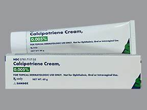 calcipotriene topical : Uses, Side Effects, Interactions, Pictures, Warnings & Dosing - WebMD Calcipotriene Skin Cream or Ointment