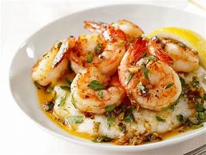 Lemon-Garlic Shrimp and Grits Recipe | Food Network ...