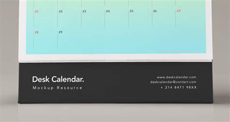desk psd calendar mockup vol psd mock  templates