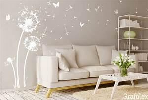 Pusteblume Schwarz Weiß Vögel : wandtattoo stilvolle pusteblume direkt vom hersteller wandtattoo und autoaufkleber shop ~ Orissabook.com Haus und Dekorationen