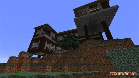 spruce mountain manor map   minecraft