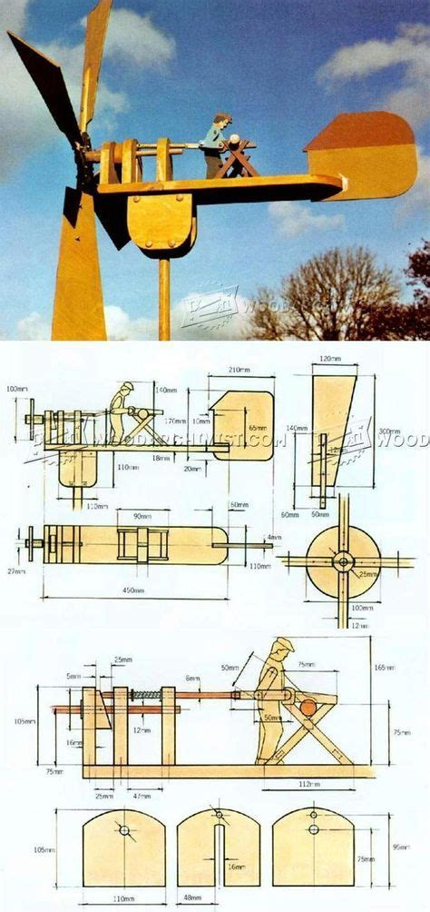 whirligig plans outdoor plans  projects