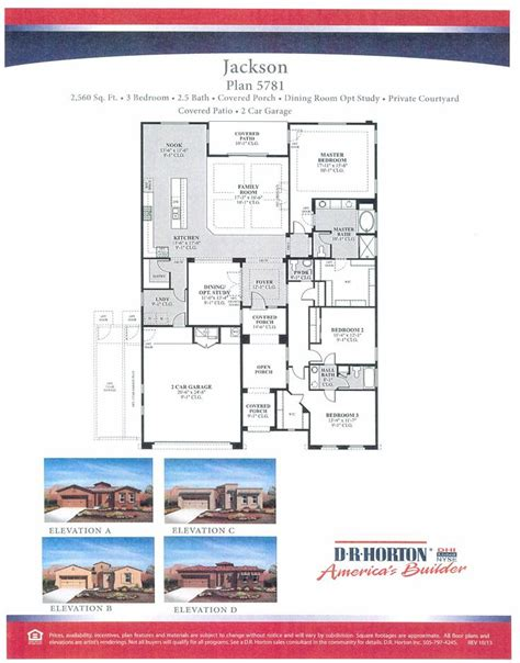 dr horton jackson floor plan floor plans dr horton homes   plan