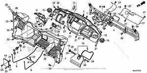 Honda Side By Side 2016 Oem Parts Diagram For Instrument Panel