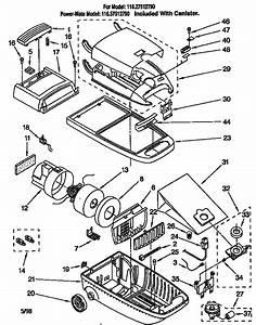 116 27512790 Kenmore Canistr Vacuum Cleaner Manual