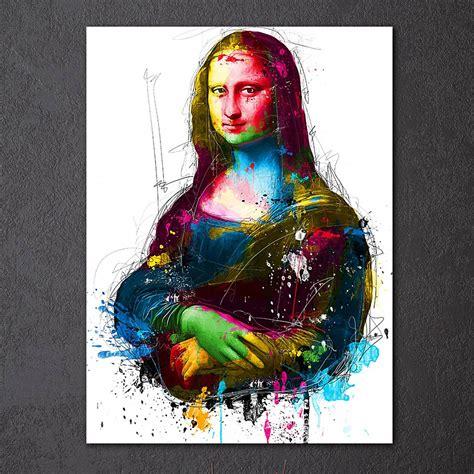 retrato da monalisa  imprimir