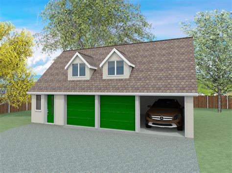 Annexe Plans With Triple Garage  The Blakewell