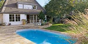 grundausstattung fur den garten pool wohnen With französischer balkon mit pool im garten bauen