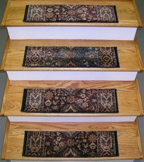 stair tread rugs home depot 173051 rug depot premium carpet stair treads set of 13 treads 26 quot x 7 5 quot multi ebay