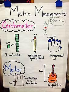 Metric Measurements Anchor Chart  Centimeter  2ndgrade