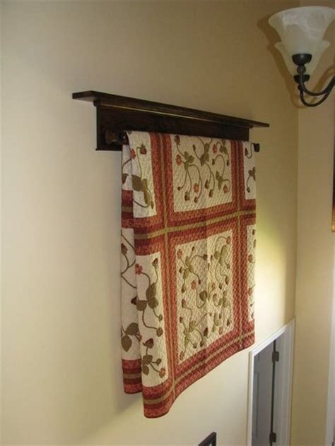 quilt wall hangers quilt hanger plans for walls woodworking projects plans