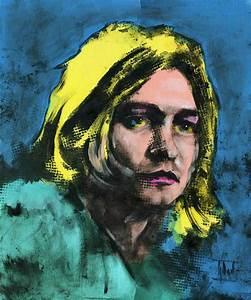 Jaroslaw Glod Artwork: Kurt Cobain | Original Painting ...
