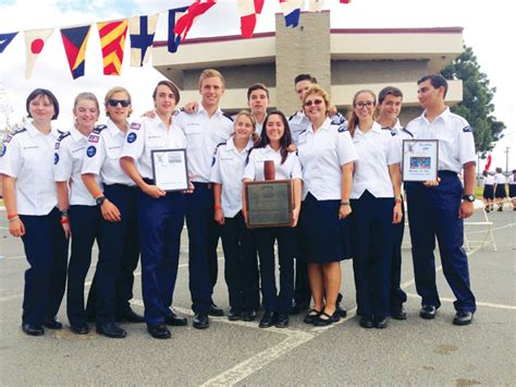 dana points mariners  sea scout ship scores high