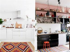 Tapis De Cuisine : un tapis dans la cuisine joli place ~ Teatrodelosmanantiales.com Idées de Décoration