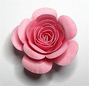 rolled flower tutorial With rolled paper roses template