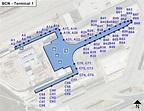 Barcelona airport terminal 1 map - Bcn airport terminal 1 ...