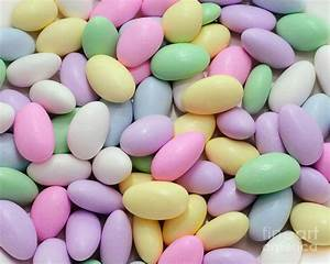 Jordan Almonds - Weddings - Candy Shop Photograph by Andee
