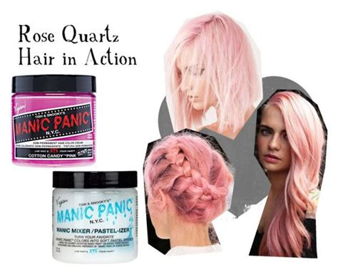 Rose Quarts Hair In Action By Manic-panic-uk On Polyvore