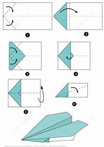 Origami Airplane Instructions