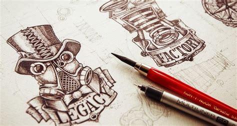20 inspiring exles of logo design sketching