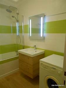 diaporama location appartement au coeur d39hendaye plage With salle de bain vert anis