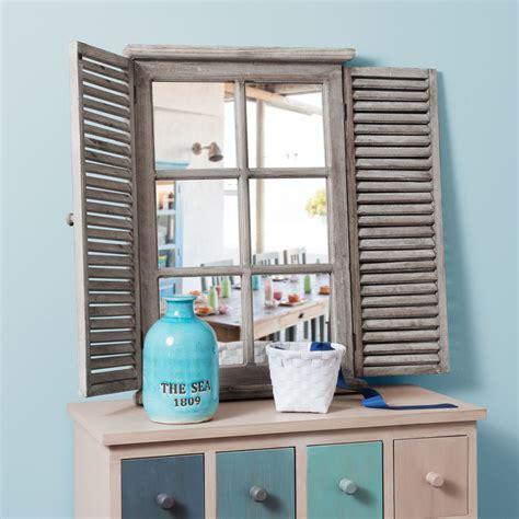 miroir en bois h 71 cm constance maisons du monde